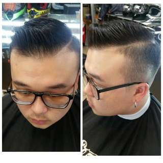 Barber service at profile asia No 139 jalan besar # 01 - 01 singapore 208857 Tel 62968639 Open daily 11. 30 to 9. 30 Pm Booking available KEN GOH HP 81187155  Instagram : Kenlovesred