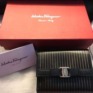Salvatore Ferragamo short wallet with coins bag