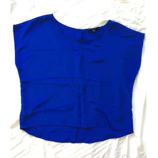 Forver 21 top- Royal blue color