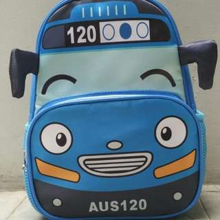 Tayo kids school bag