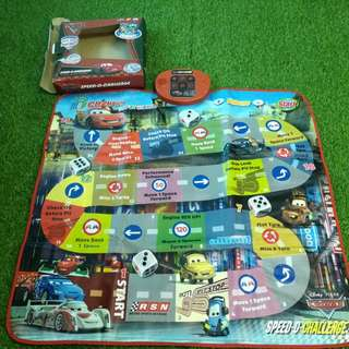 Disney cars playmat