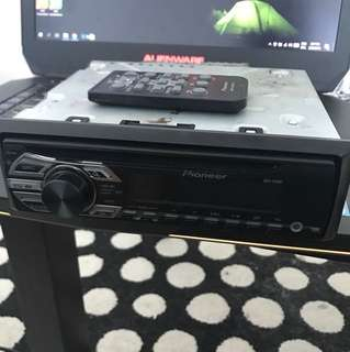 Pioneer cd/mp3 aux cat player