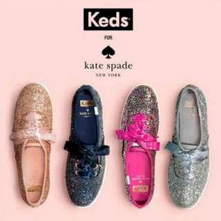 Keds x Kate Spade Glitter.
