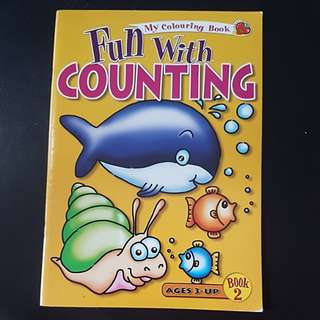 Counting and colouring book