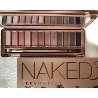 (New) Urban Decay Naked3 Eyeshadow Palette