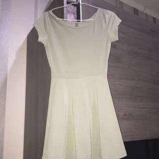 green mini dress cotton on