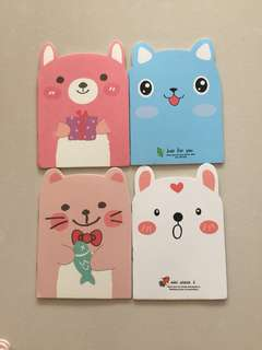 Brand New Animals Mini Notebook