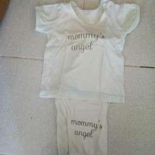 Mommys angel nightwear