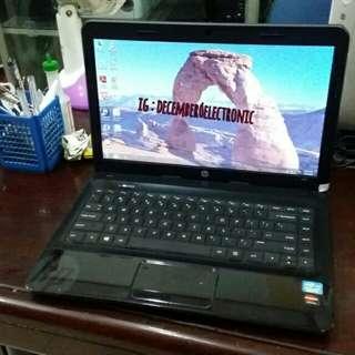 Laptop HP 1000 core i5 ram 4gb dual vga