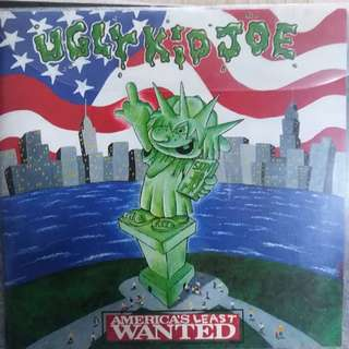 Ugly Kid Joe (no back cover) Americal most wanted
