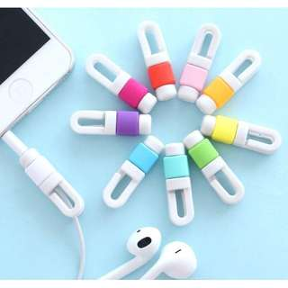 Earphones cord saver with hook