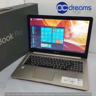 "ASUS VIVOBOOK PRO N580VD - DM060T [i7/8GB/128GB SSD+1TB HDD/GTX1050 4GB/15.6""FHD] [FACTORY REFRESH] [PC DREAMS OUTLET]"