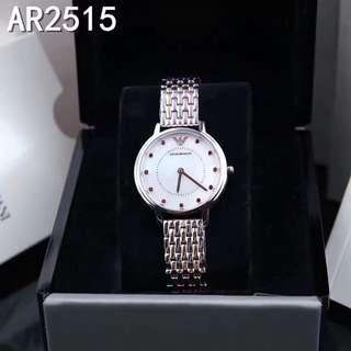 Authentic! Armani ar2515 福字特別版 Watch 手錶