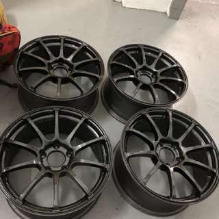 Advan Racing 17' x 8jj x 45 Car Rim