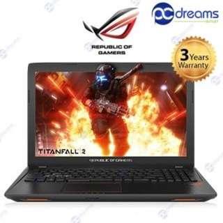 """ASUS ROG GL553VD - DM410T [BRAND NEW] (i7/16GB/128GB+1TB/GTX1050 4GB/15.6"""" FHD) [PC DREAMS OUTLET]"""