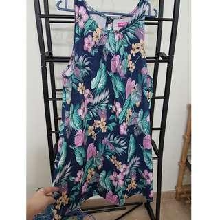 brand new size L Valley Girl flora sleeveless dress