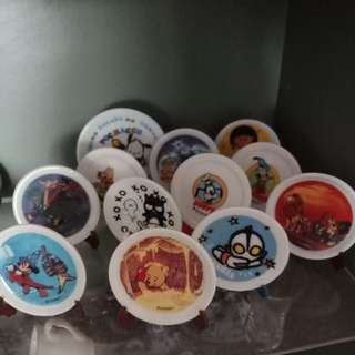 Collection cups n plates