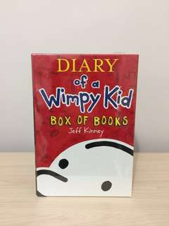 Diary of a Wimpy Kid (Box of books)