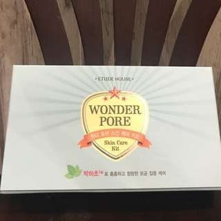 Wonder Pore Skin Care Kit Etude House