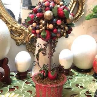Topiary Fruit Decor