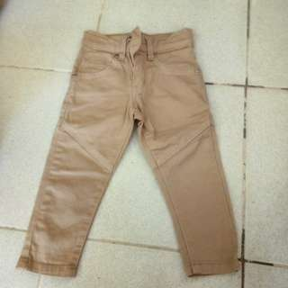 Khaki pants for baby boy