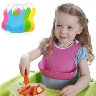 Baby Plastic Bib
