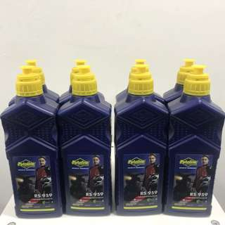 Putoline RS959 2T Oil - 100% Synthetic Racing Oil Ester Tech