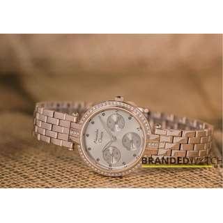 Jam Tangan Wanita Alexandre Christie 2690 BF Bronze Gold / Alexandre Christie 2690 / Jam AC 2690 / Jam AC Termurah