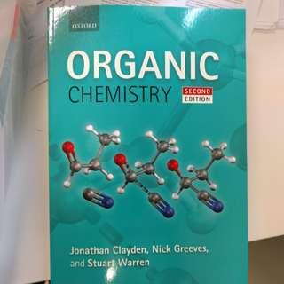 Organic Chemistry 2Ed Clayden CM1121 CM2121