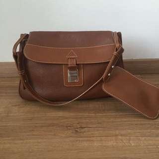 Authentic Lancel Brown Handbag
