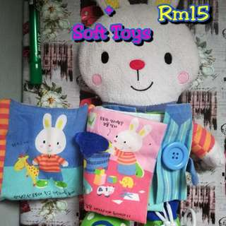Baby Soft Book & Soft Toys
