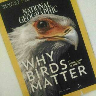 NATIONAL GEOGRAPHIC (JANUARY 2018)