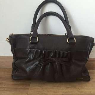 Sachs Dark Brown Handbag