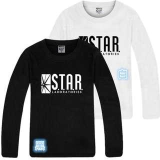 [預購] 閃電俠 Flash man star lab 星際實驗室 長T 3色