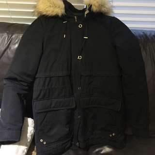 ZARA Short Winter Coat