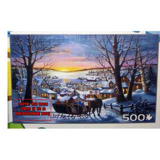 Jigsaw Puzzle - 500 pieces - Peace On Earth (Pre-Owned)