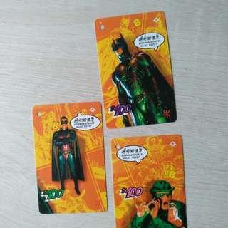 Batman 蝙蝠俠 紀念地鐵車票