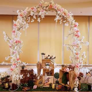 Solemisation in Ritz Carlton Overall Ballroom Wedding Decor for your venue