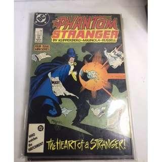 The Phantom Stranger - Nos. 1 thru 4 - DC Comics Inc. - Oct 1987 to Jan 1988