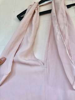 Preloved Baby Pink Jumpsuit