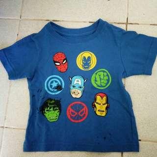 Marvel shirt for boys