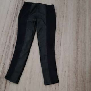 Zara leather legging