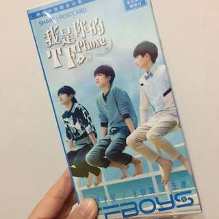 Tfboys post cards