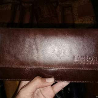Tricia wallet on darkbrown