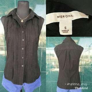 Poloshirt sleeveless