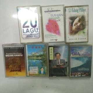 Paket kaset pita worship