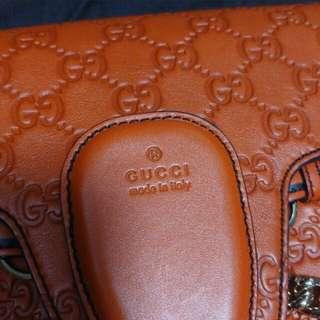 Gucci 全皮 鏈袋