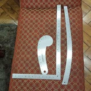 FAIRGATE Rulers w/ Bag
