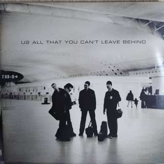 U2 all u can leave behind