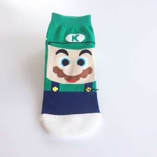 Super Mario Characters Socks